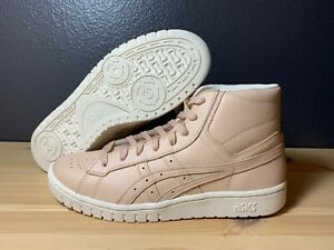 Men's Asics Tiger GEL-PTG MT High Top Leather Sneakers Tan H810L Size 9