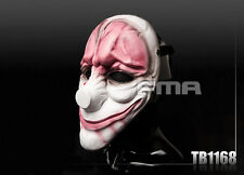 FMA Hallowmas Cosplay Party CS PayDay 2 Hoxton Red Head Mask TB1168