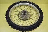 89-98 1994 RMX250 RMX 250 Front Wheel Rim Tire Hub Spoke Rotor Assembly 21x1.6 A