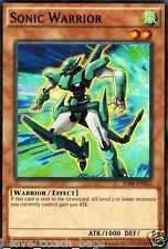 Sonic Warrior 1st SDSE-EN012 X 3 Mint yugioh Cards