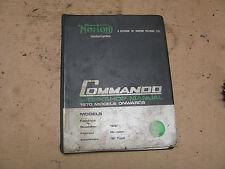 Norton  Workshop Manual 750 Commando 123116