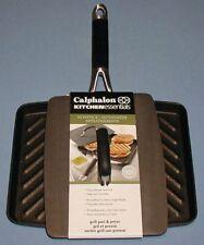 "Calphalon 11"" Anodized Aluminum Non-Stick Panini Grill Pan Sandwich Press ** NEW"