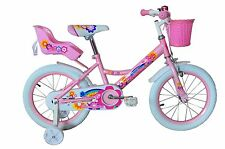 kids 16 inch girl's bikes with training wheels and Basket,gifts for children