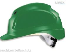 UVEX Pheos B - WR Bauhelm Schutzhelm Helm gute Belüftung Drehradsystem grün