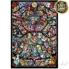 1000 Piece Jigsaw Puzzle Disney Pixar Stained Glass (51 x 73.5 cm) DP-1000-028