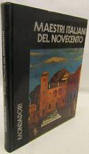 ARTE STORIA PITTURA - Bortolon: Maestri Italiani del Novecento - Mondadori 1971