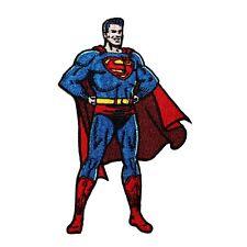 Classic Superman DC Comic Superhero Justice League Leader Iron-On Applique Patch