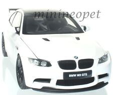 KYOSHO 08739 W BMW M3 GTS 1/18 DIECAST MODEL CAR ALPINE WHITE