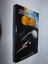 Star Trek Starfleet Year One by Michael Jan Friedman PB 2002 FIRST EDITION