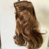 Hand Styled Doll Wig Global Doll Carmen 12-13 Light Brown Long Wavy Hair NOS