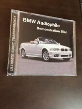 2001 BMW Audiophile Demonstration Disc Digital Chesky Records INCLUDES 2 DISCS
