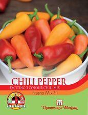 Thompson & Morgan-Pepper Chili Fresno Mix F1 Hybrid - 6 semillas
