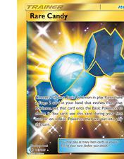 Pokemon Card: RARE CANDY 165/145 Guardians Rising Full Art Secret Rare NM