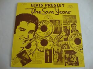 Elvis Presley LP The Sun Years (Sun 1001, UK)
