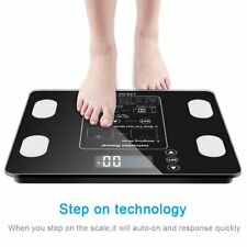 Digital Body Weighing Scale Health Analyser Fat Muscle BMI Measur 400 lb /180 kg