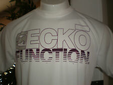 NWT ECKO FUNCTION PERFORMANCE WHITE S/S T-SHIRT SZ:S