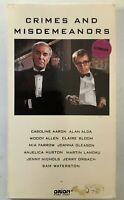 Crimes And Misdemeanors 1989 VHS Caroline Aaron Woody Allen AlanAlda VHSshopCom