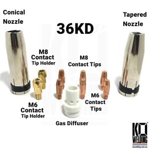 MB 36/36 AK | Nozzles/Contact Tips/Holders OEM For Binzel MIG Torch Parts Weldin