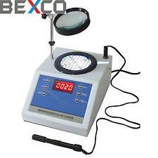 TOP QUALITY Digital Colony Counter Laboratory Equipment Aluminum Blue BEXCO,DHL