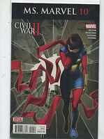 Ms. Marvel #10 Near Mint Civil War ll  Wilson Miyazawa   Marvel  Comics MD9