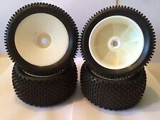 YOKO Moster truck or truggy  tires, set of 4 (white rims)