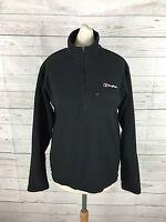 Women's Berghaus Pull Over Zip NeckFleece Jacket - Small UK8 - Great Condition