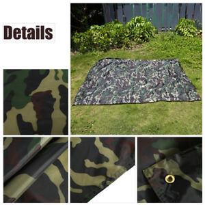 3*2.9m Camouflage Extérieur Bâche de tente Anti- Imperméable avec Sac Set