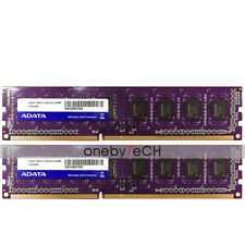 8GB (2x4GB) DDR3-1600 PC3-12800 240 Pin 1.5V NON ECC Unbuffered Desktop Memory