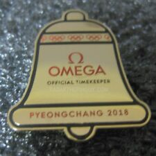 2018 Pyeongchang Winter Olympic Omega Gold Dated Pin