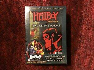 Hellboy Animated Sword of Storms : Limited Edition Box with 3 Hellboy Bust-Ups