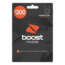 Boost Mobile 150gb 365 Days Prepaid SIM Card Starter Kit Express Post