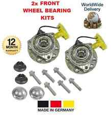 FOR OPEL VAUXHALL INSIGNIA 2.0 CDTI 2013-->ON  2x FRONT WHEEL BEARING KIT