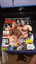 WWE Raw Magazine Holiday 2002 Raw Tenth Anniversary HHH & The Rock Cover