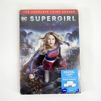 Supergirl - The Complete Third Season (5 Disc DVD Set, 2018) New Sealed