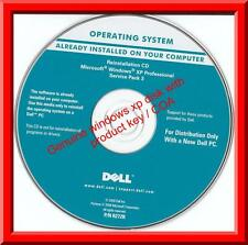 Genuine Microsoft Windows XP Professional CD with product key COA for any PC