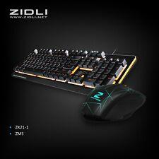ZIDLI Gaming Mechanical Keyboard and Mouse Combo
