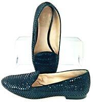 Vince Camuto Edmonton Loafer Women's Sz 6.5 M Black Slip On Round Toe Flat Shoes