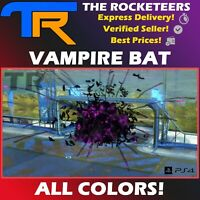 [PS4/PSN] Rocket League Vampire Bat Import Goal Explosion Grey Crimson etc.