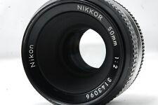 **Not ship to USA** Nikon Non-Ai 50mm F2 Lens  SN3143096