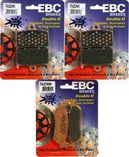 EBC Sintered HH (2) Front + Rear Brake Pads 2002-03 Yamaha R1 FA252HH + FA275HH