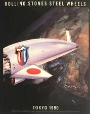 "Rolling STONES ADESIVO/STICKER # 18 ""Steel Wheels Tokyo 1990"" PVC"