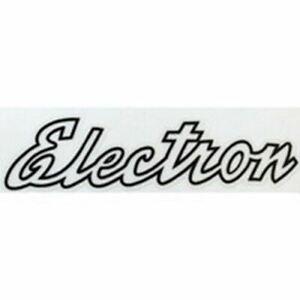 """CLAUD BUTLER """"Electron"""" top tube script"""