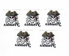 5 x Kids Temporary Tattoos - Pirates - Great Party Favours , Stocking Fillers