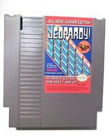 Jeopardy -- Junior Edition ORIGINAL NINTENDO NES GAME Tested + Working!