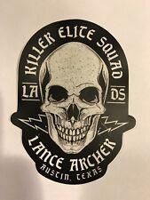 Killer Elite Squad Lance Archer Sticker NJPW Pro Wrestling Crate ROH WWE