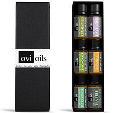 Essential Oils Aromatherapy Gift Set 6 - 100% Pure Therapeutic Grade Guaranteed