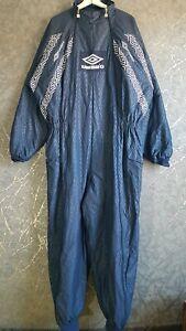 Vintage UMBRO One Piece Insulated Ski Suit Boiler Suit JumpSuit Size XL