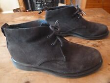mens DR MARTENS suede ankle boots - size uk 7 good condition