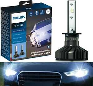 Philips Ultinon Pro9000 LED 5800K H1 Two Bulbs Fog Light Replacement Upgrade OE