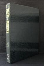 SMOKE & MIRRORS Joe Hill Neil Gaiman Brian Keene SLIPCASED SIGNED LTD Cemetery D